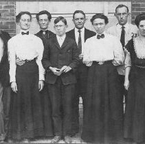 Image of Post Office Staff - Unknown