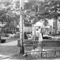 Image of Behind the Library - Unknown