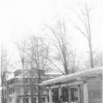 Image of The Pergola and Winter Snow - Dan W. McCarthy?