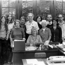 Image of Alfreda Irwin & Staff - Unknown