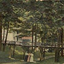 Image of Women Standing at Bridge - Unknown