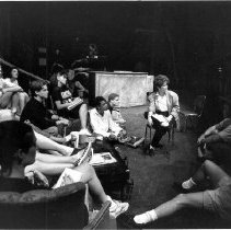 Image of Rebecca Guy & Theater Students - Unknown
