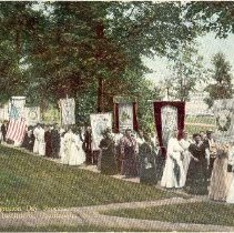 Image of Recognition Day Procession - George V. Millar?