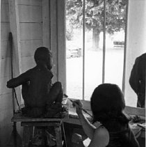 Image of Sculpting at the Art Center - Unknown