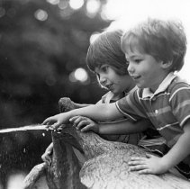 Image of Children Play on Fountain - Unknown