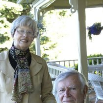 Image of Judy and Bill Clinger - Cornuelle, Marie