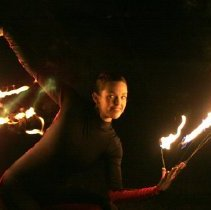 Image of Finfrock and Cullen Using Fire and Light - Roehrig, Michele