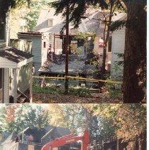 Image of 38 Miller Park after 9/1990 fire