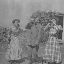 Image of Drinking Trio - Unknown