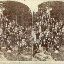Image of Choir of Chautauqua S.S. Assembly -- 1878 - Walker, L.E.