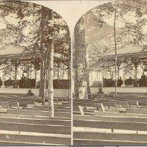 Image of Auditorium in Grove--Chautauqua, N.Y. - Walker, L.E.