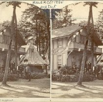 Image of Cottage and Group and Fairpoint - Walker, L.E.