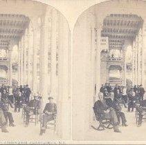 Image of Veranda of Hotel Athenaeum--Chautauqua - Walker, L.E.
