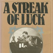 Image of A Streak of Luck: The Life and Legend of Thomas Alva Edison - Conot, Robert E.