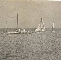 Image of Sailboats on the Lake - Unknown