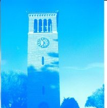 Image of Miller Bell Tower - Blue -
