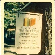 Image of Chautauqua Literary & Scientific Circle - Bragdon, Helen D.