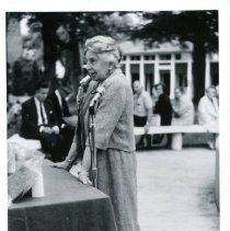 Image of Margaret Miller Newman at Miller Park -