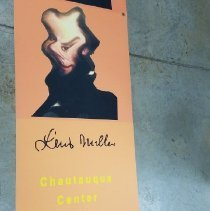 Image of Lewis Miller Banner - Chautauqua Centor for Visual Arts