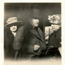 Image of Ira, Cora, and Margaret Miller -