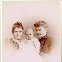 Image of Mary, Robert, and Louise -