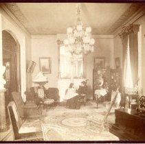 Image of Mary Miller in the Parlor -