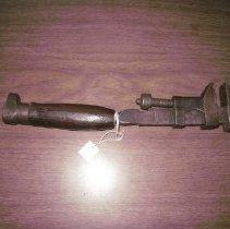 Image of Wrench, monkey - 2008.23.7