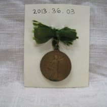 Image of Medal, Commemorative - 2013.36.03