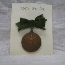 Image of 2013.36.04 Medal - Front