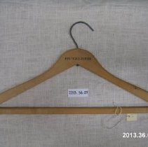 Image of 2013.36.07 Hanger - Front