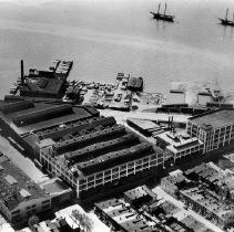 Image of Aerial view of American Can Co