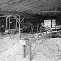 Image of Workers at Cox's Sawmill