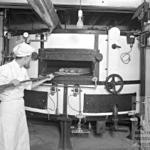 Image of Worker at Miller Bros. Bakery