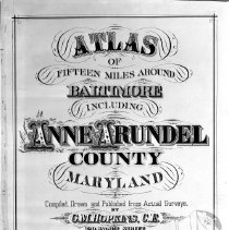 Image of AA Co. Atlas Title Page