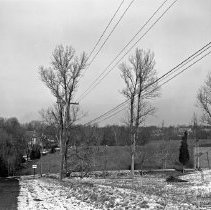 Image of Power Lines near mansions