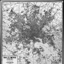 Image of Map of Balto City