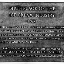 Image of Hendler Creamery Plaque