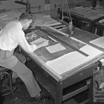 Image of draftsman at Moeller Company