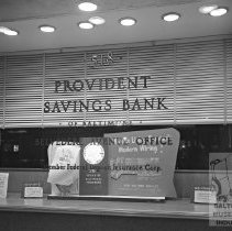 Image of display window at Provident
