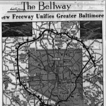 Image of Baltimore Beltway Map