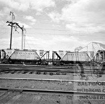 Image of Penn. RR coal hoppers