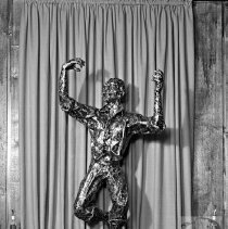 Image of Bronze Statue at Zorba's