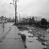 Image of Hurricane Damage on Russell St