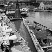 Image of Navy Ships being scrapped