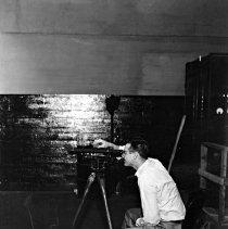 Image of Surveyor at Power Plant