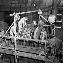 Image of Workers in turbine room