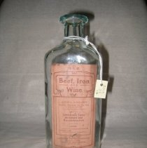 Image of Beef, Iron and Wine Bottle