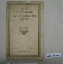 Image of The Baltimore Gas and Electric news: welfare number