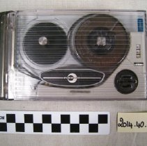 Image of Recorder, Audio Tape - 2014.40.02a