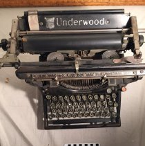 Image of Underwood Typewriter Top
